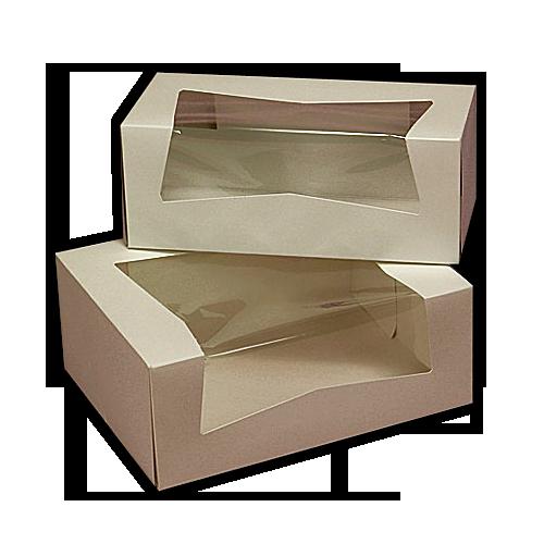 Customised Cardboard Kraft Card Pastry Packaging Boxes In