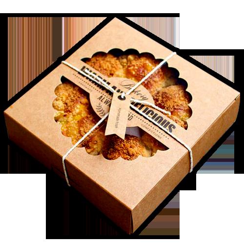 Custom Printed Pie Packaging Boxes Supplier