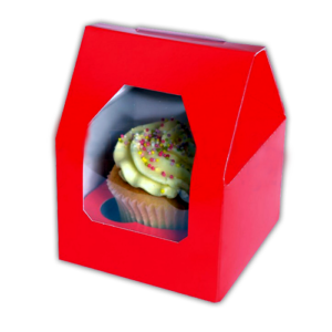 Ultra Quality, Custom Shaped Cupcake Boxes